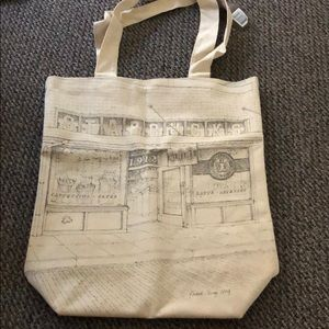 NWT Starbucks First Store Tote